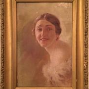 Портрет неизвестного художника