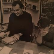 """Когда я пришла в легендарную """"Литературку"""", практически всему научил меня Лев Токарев. Как молоды мы были!"""